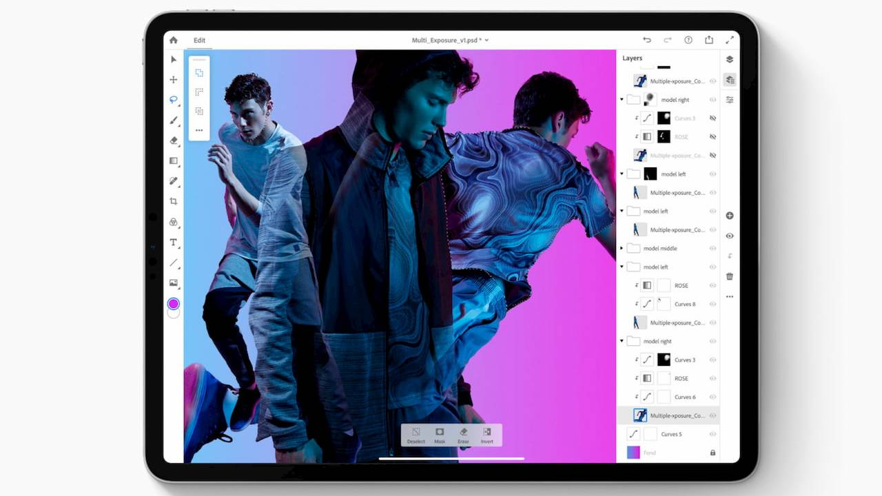 Photoshop for iPad needs a Creative Cloud subscription: Details