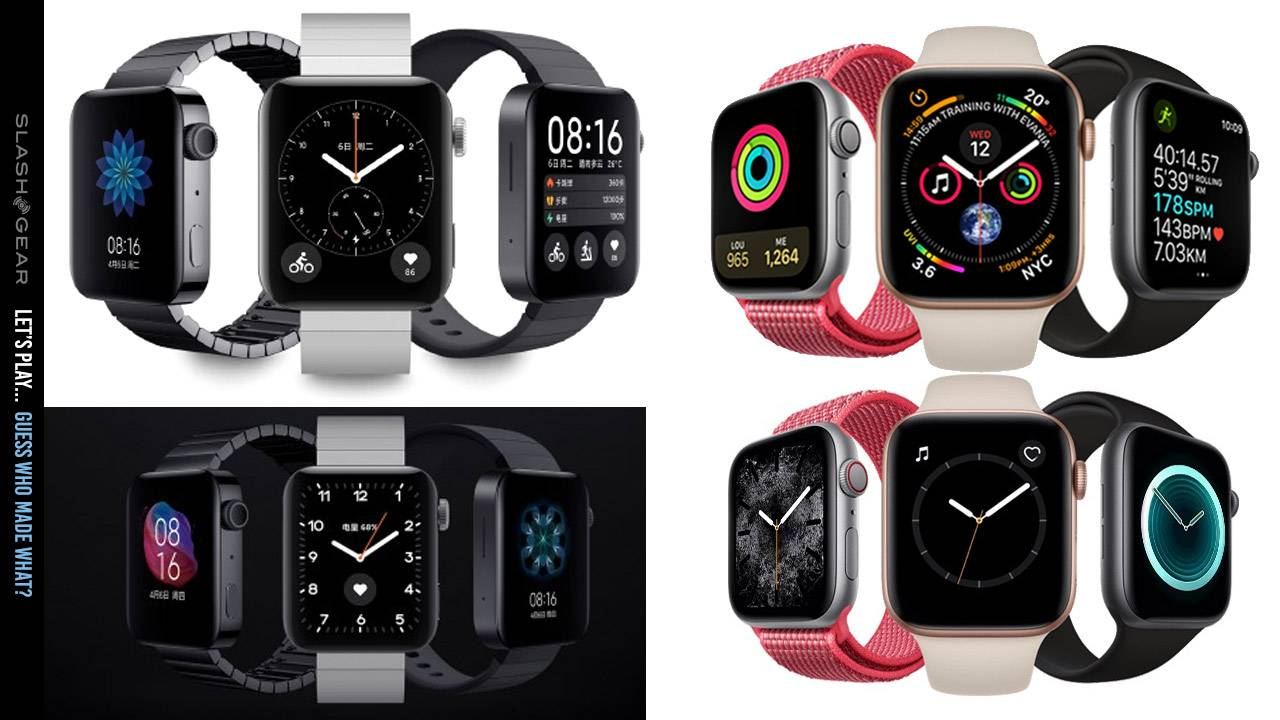 Xiaomi Mi Watch (Apple Watch look-alike) costs under $200