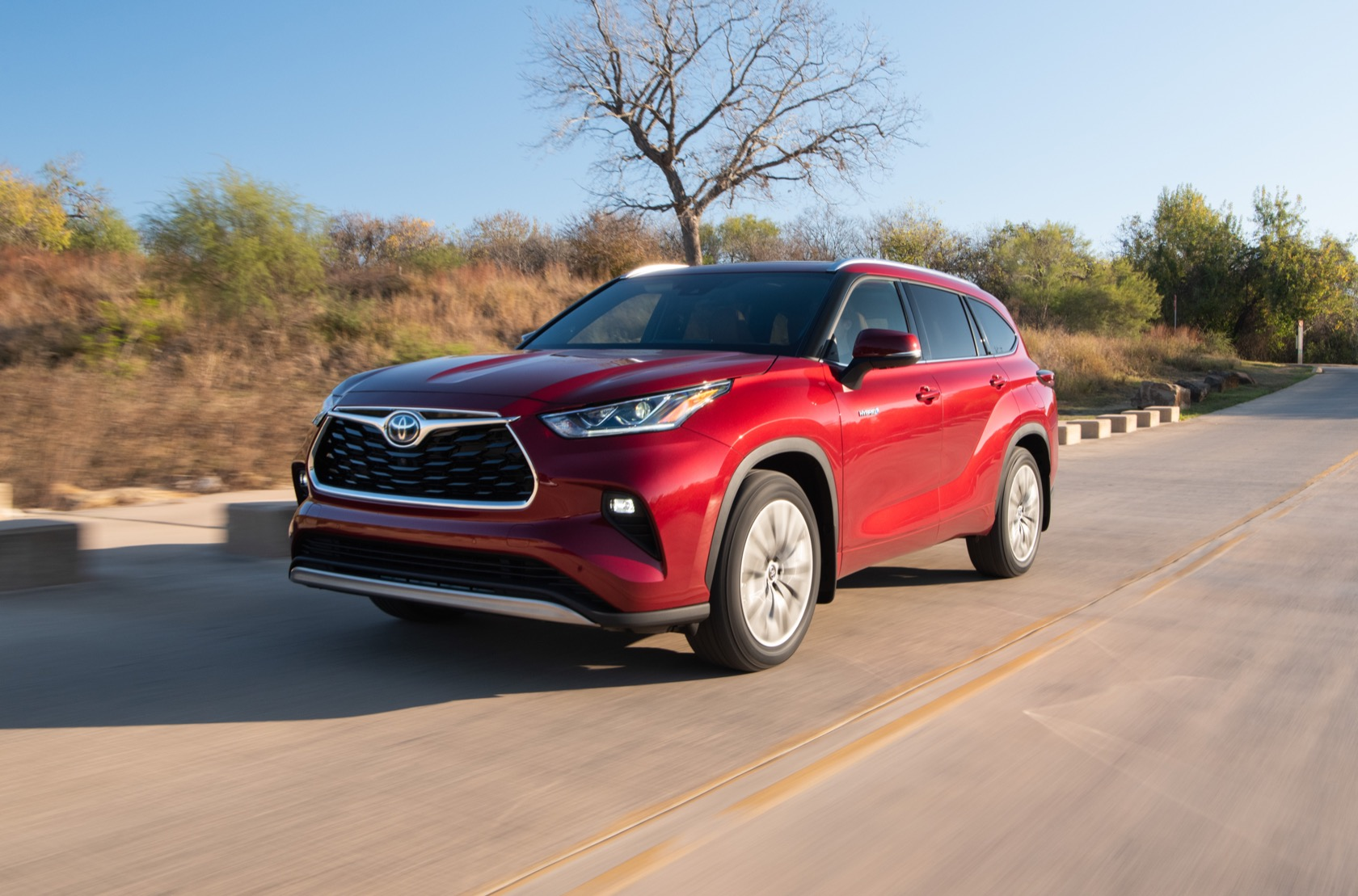 2020 Toyota Highlander Official 8 Seats Hybrid Tech Pricing