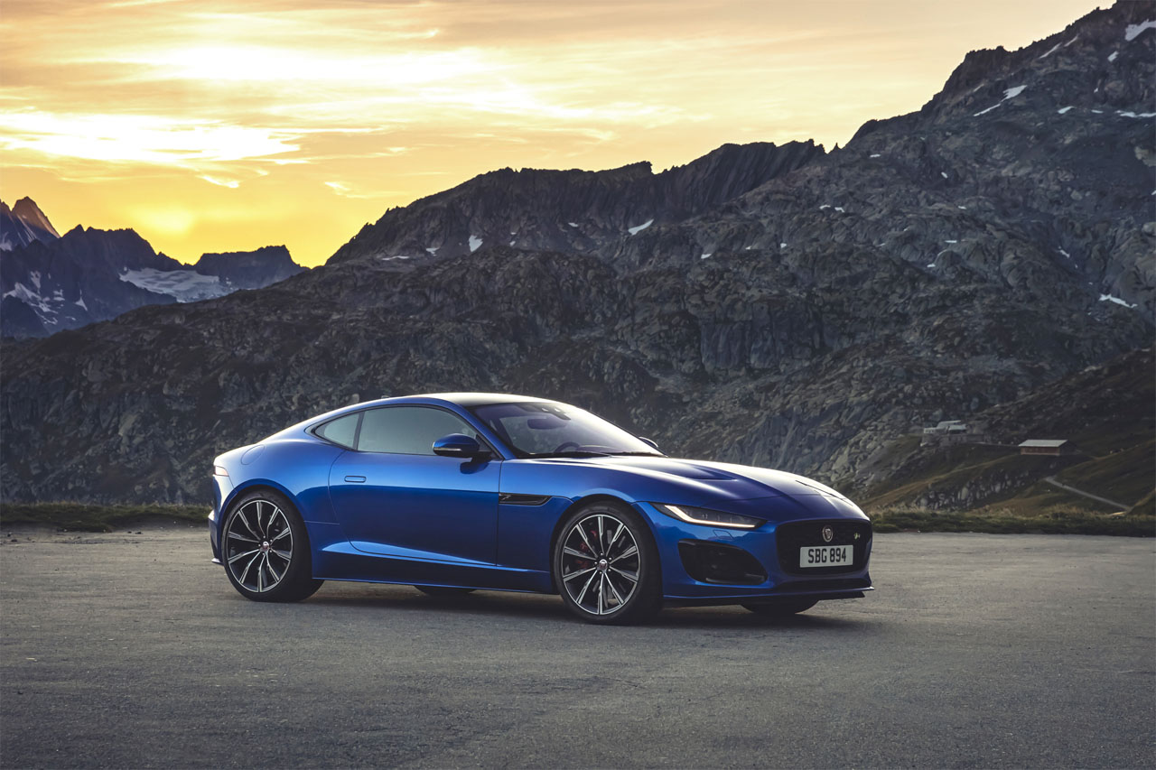 2021 jaguar f-type gets new design and tech
