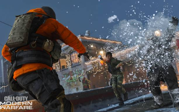Call of Duty gets into the holiday spirit with Snowfights, winter themes