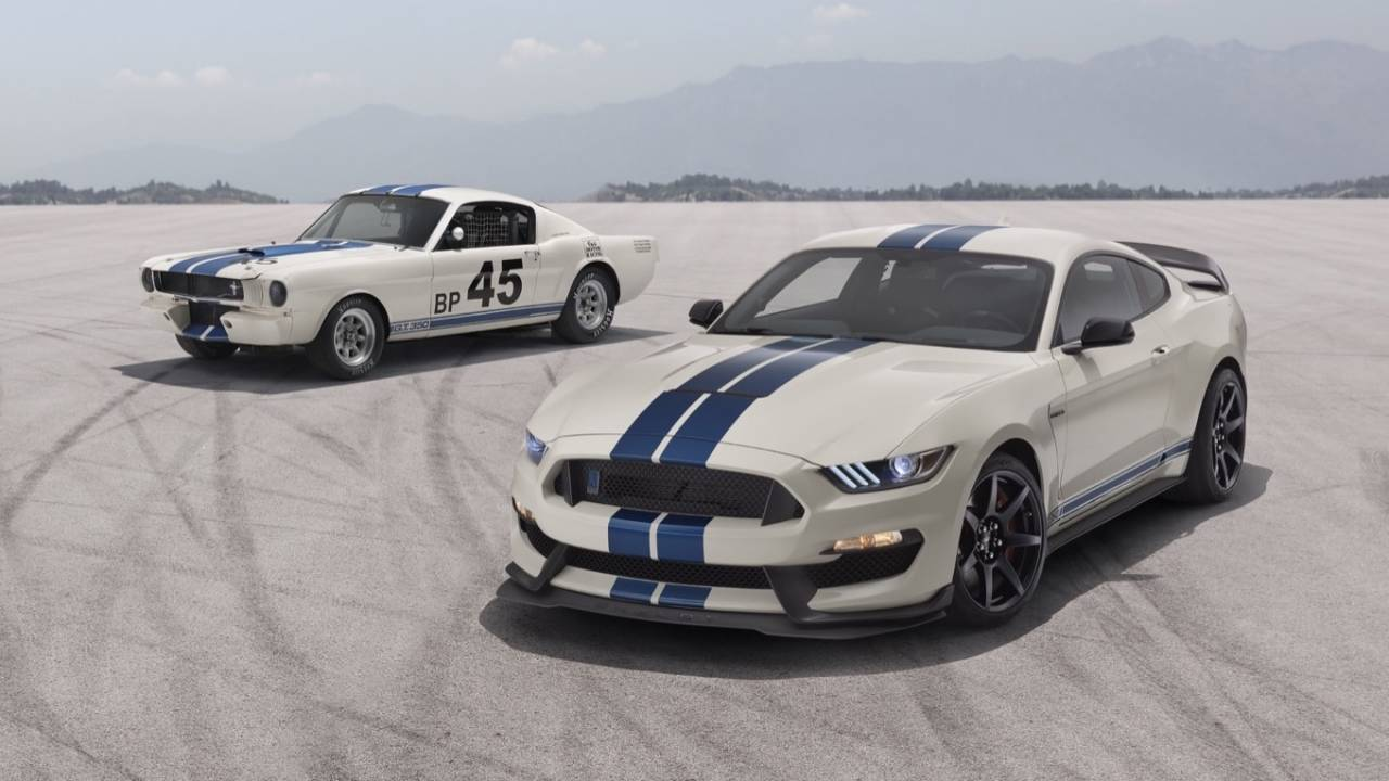 2020 Mustang Shelby GT350 Heritage Edition Package is retro done right