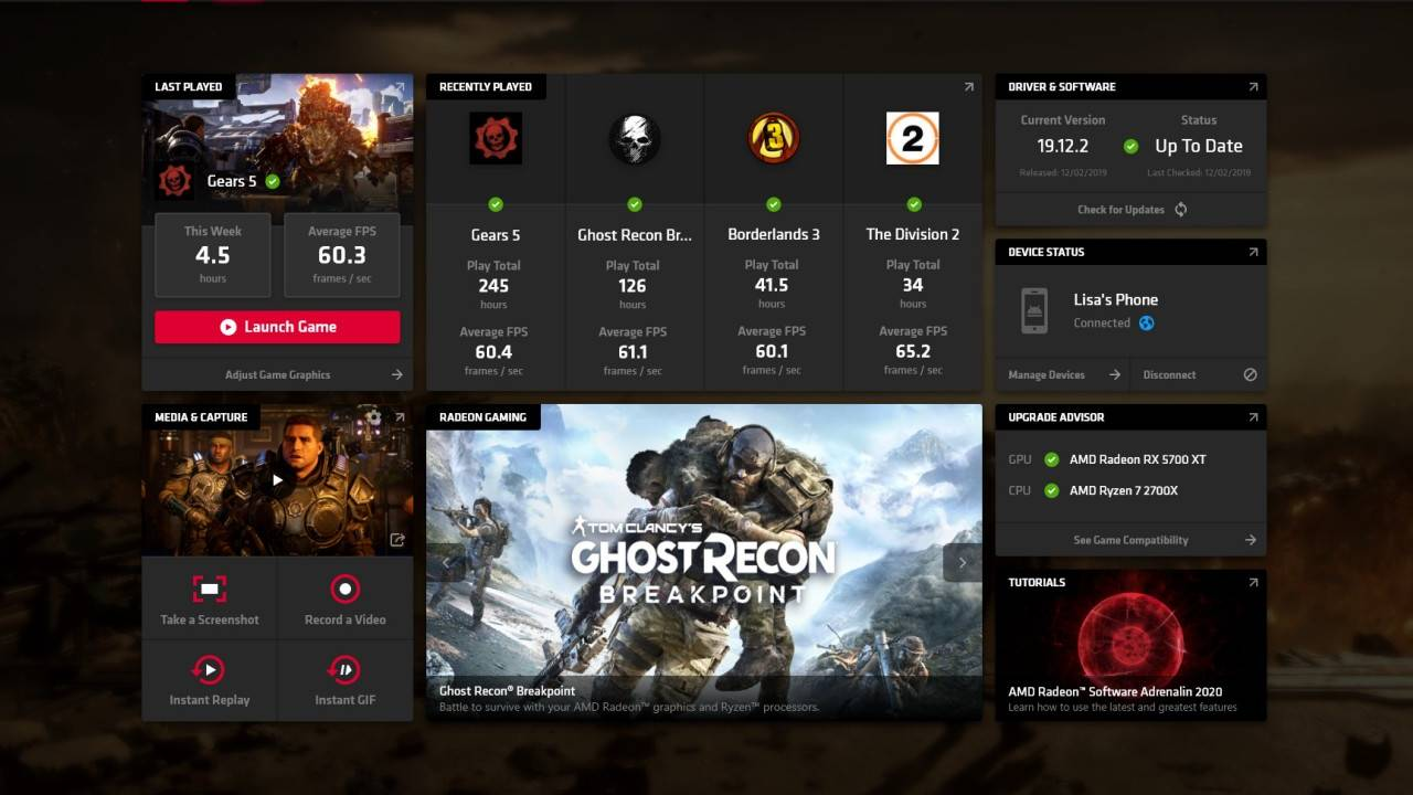 AMD Radeon Software Adrenalin 2020 adds game streaming from anywhere