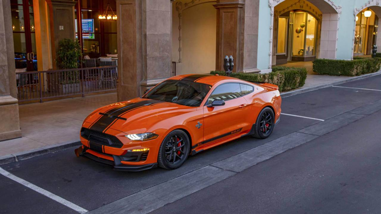 2020 Shelby Super Snake Bold Package adds paint jobs as wild as its 825hp