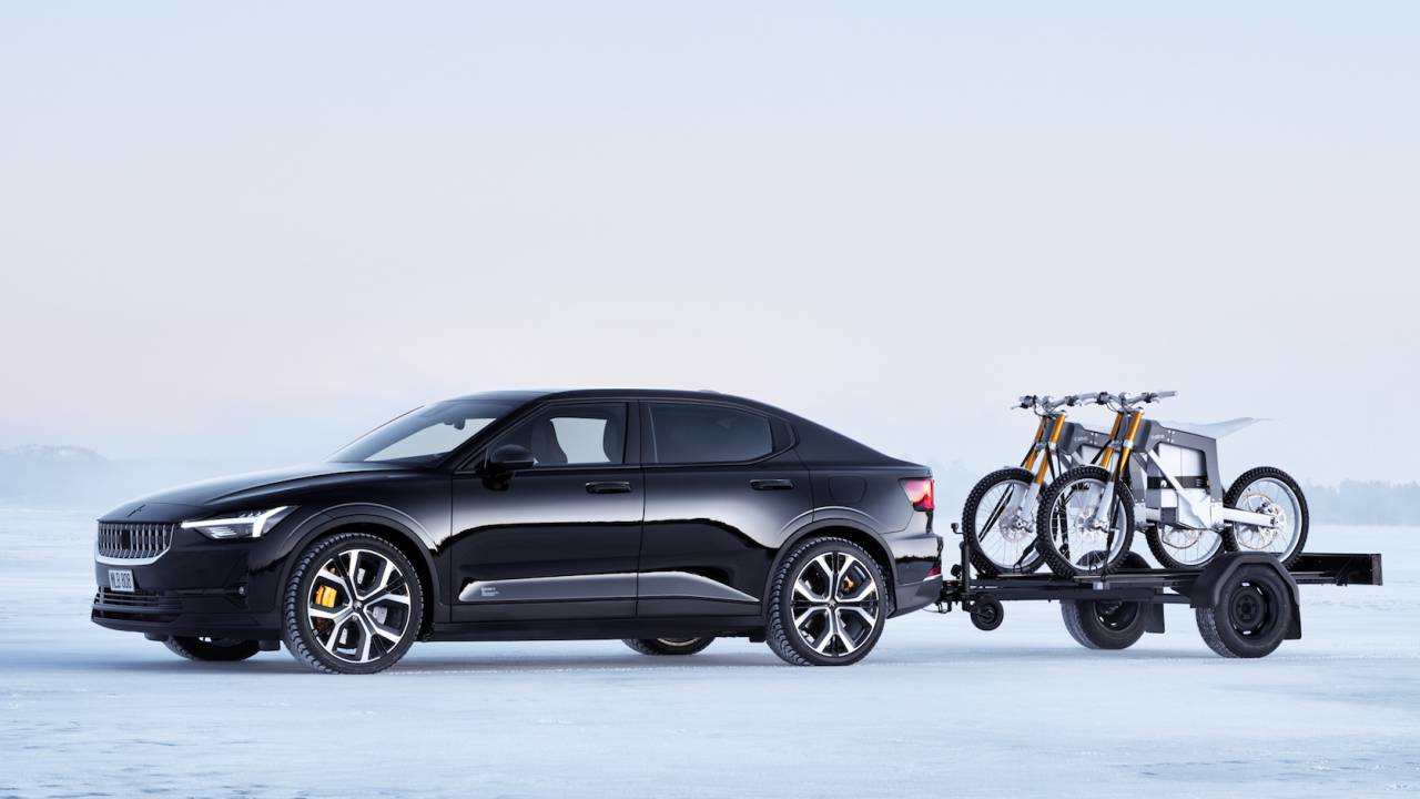 Polestar 2 towing capacity bests Model 3 as fastback EV shows accessories