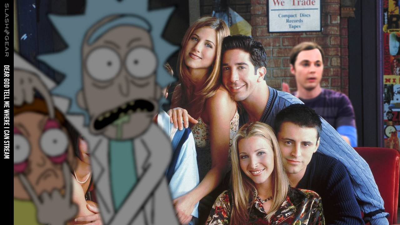 Episodes of Rick and Morty, Friends, Big Bang Theory licensing through 2028