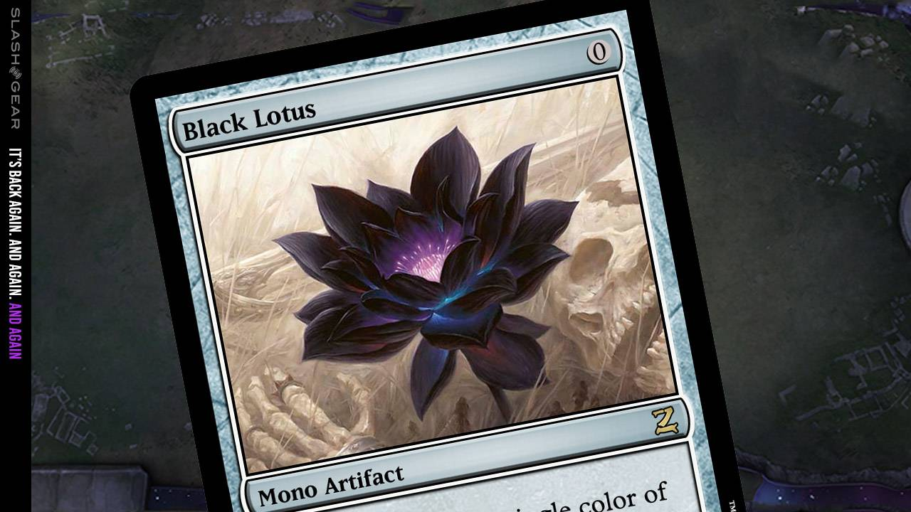 New Magic The Gathering set release revives Black Lotus
