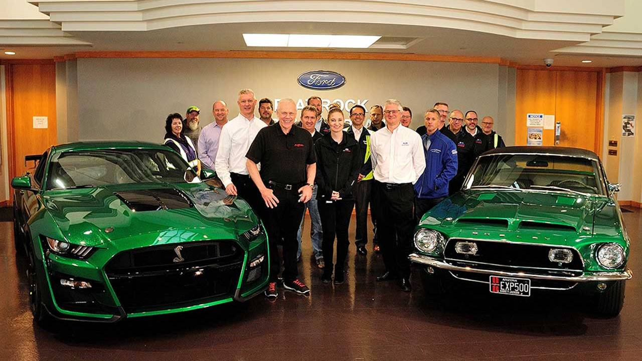 Ford delivers 2020 Ford Mustang Shelby GT500 CS0001