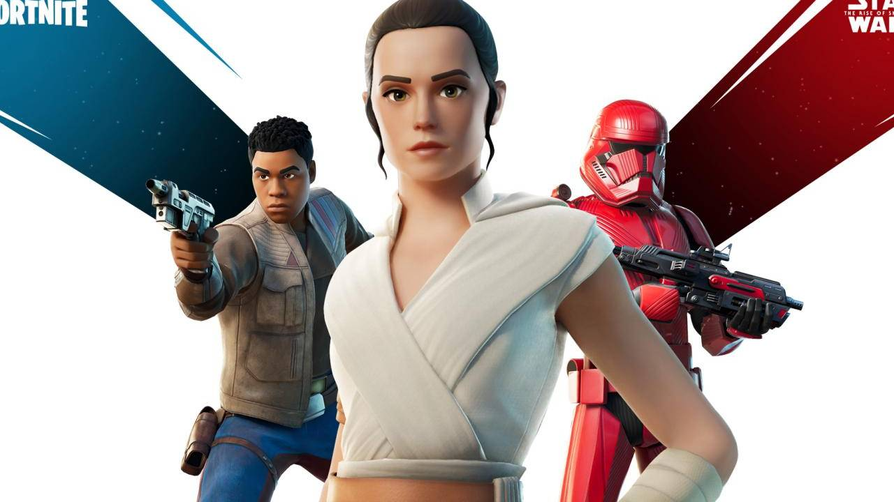 Fortnite Star Wars skins let you play as Rey, Finn, or a Sith Tropper
