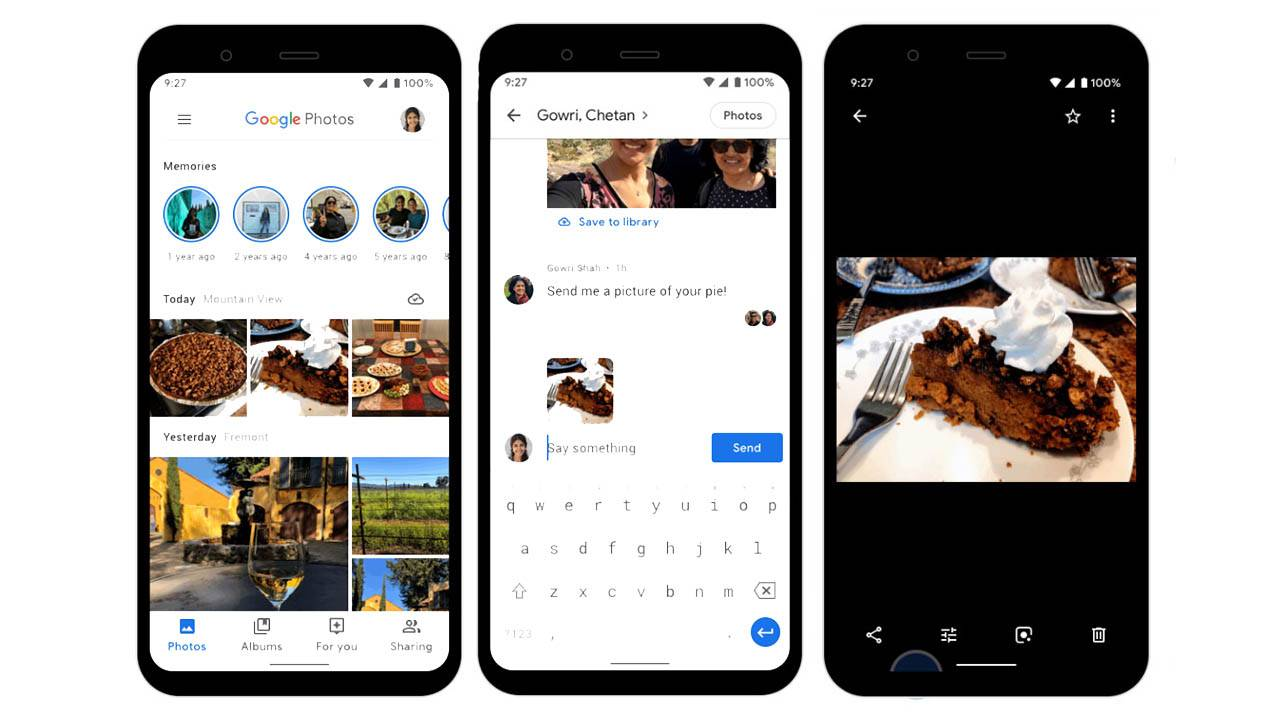 Google Photos messaging feature makes it easier to share images