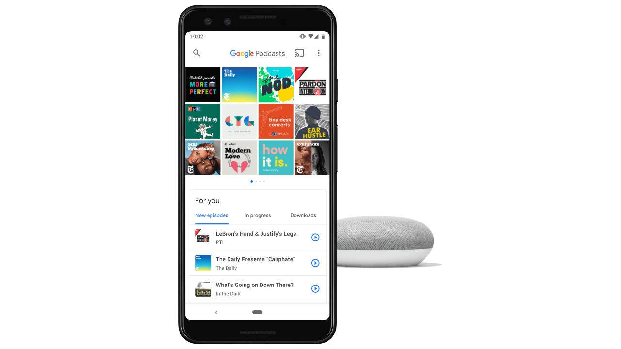 Google Podcasts gets new personalized recommendations tab