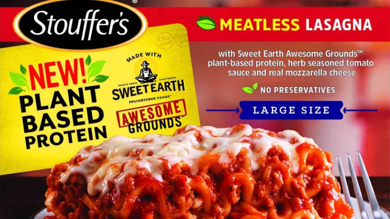 Plant-based meat trend expands to two popular frozen food brands