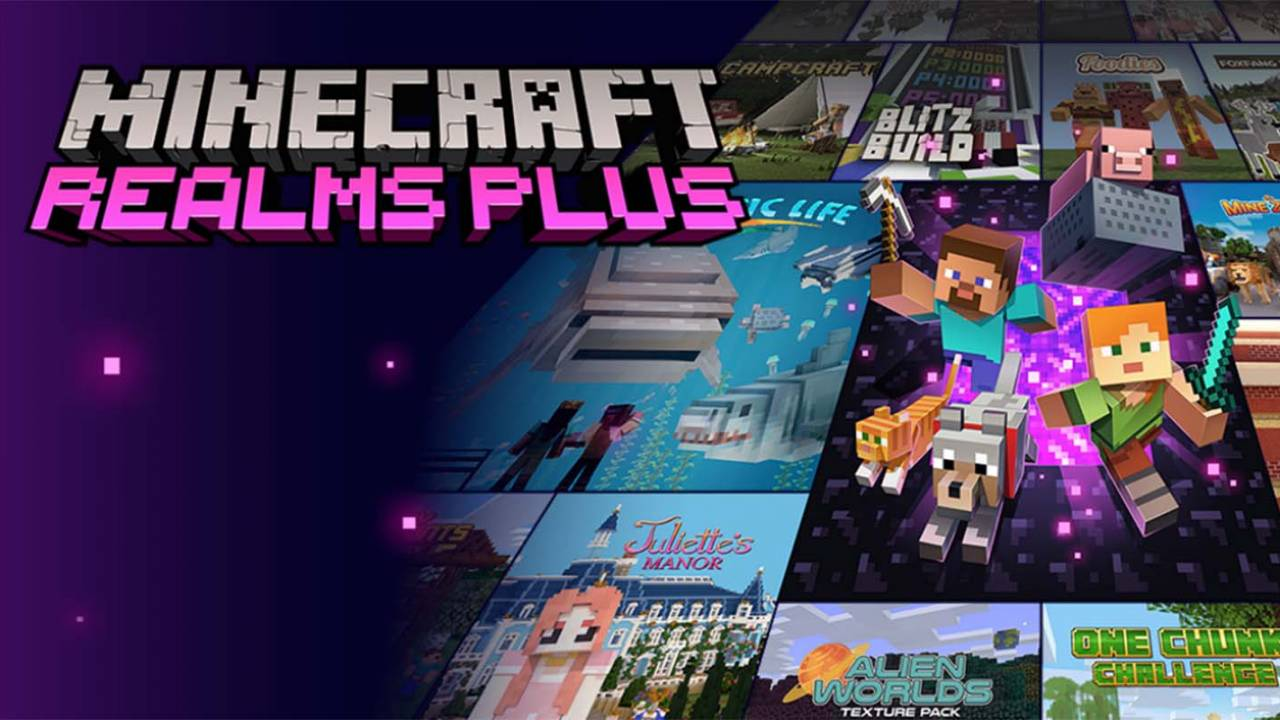 Minecraft Realms Plus monthly subscription service is now available