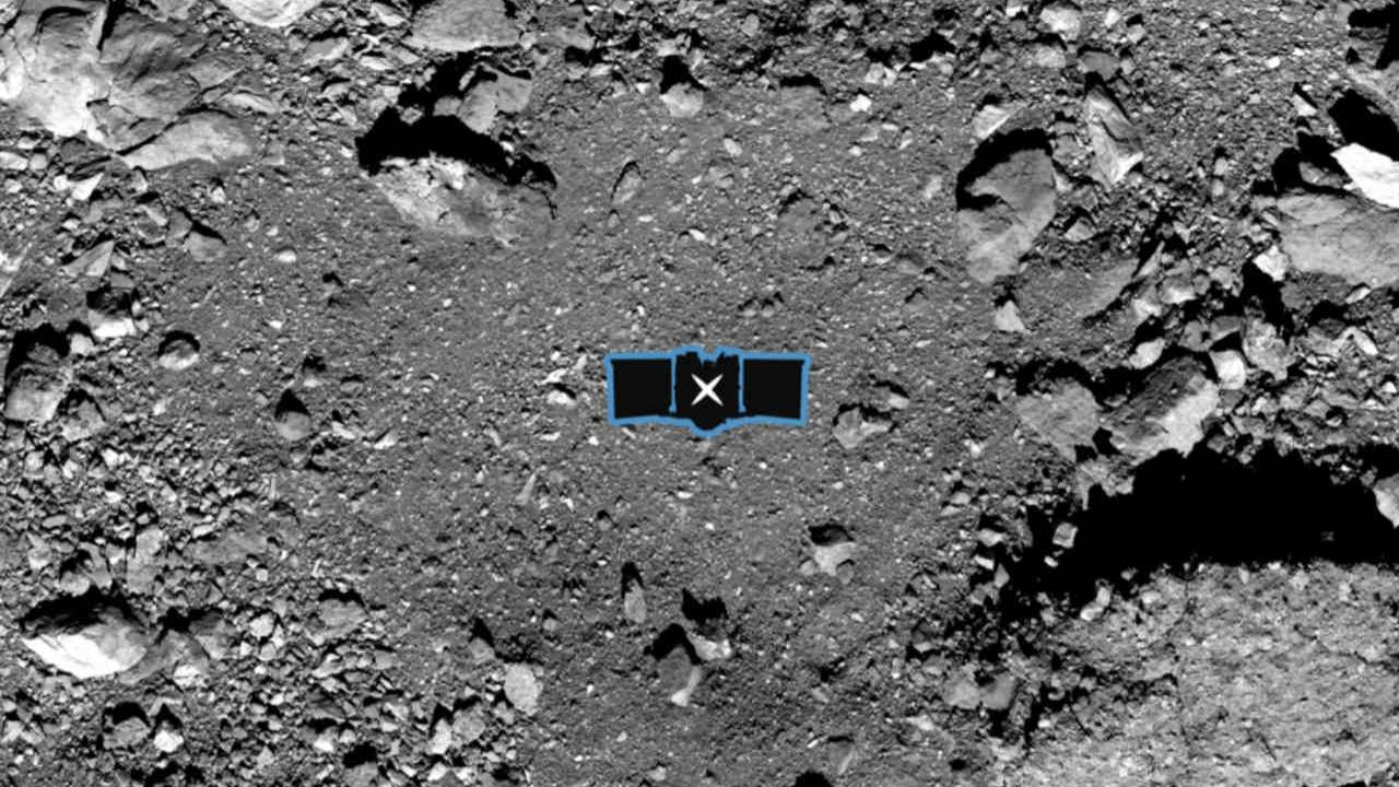 NASA will pluck an asteroid sample from Bennu's Nightingale site