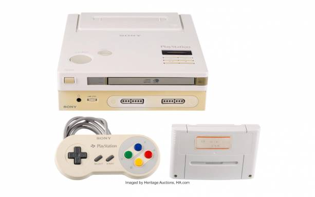 The Nintendo Play Station that never came to be is going up for auction