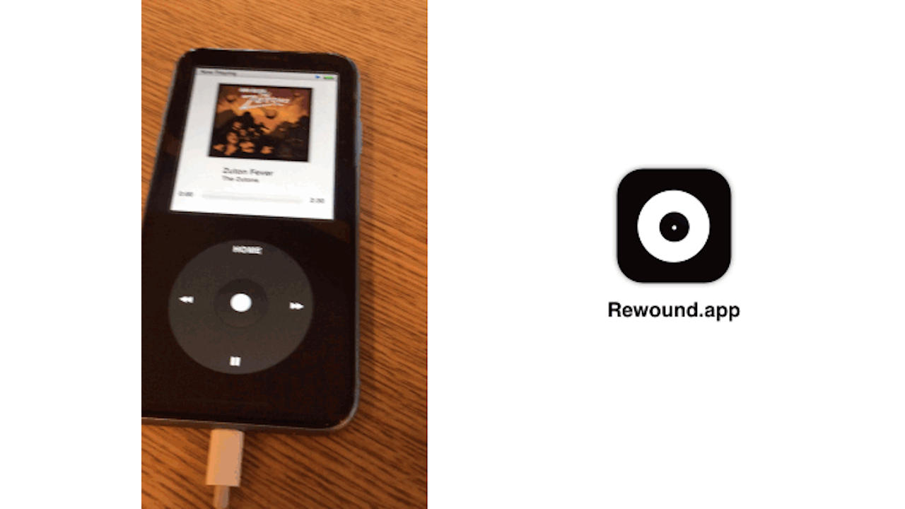 Rewound app turns iPhones into iPods, killed by Apple, becoming a Web app