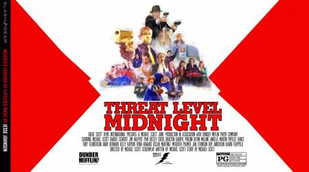 The Office Netflix exit begins with full Threat Level Midnight
