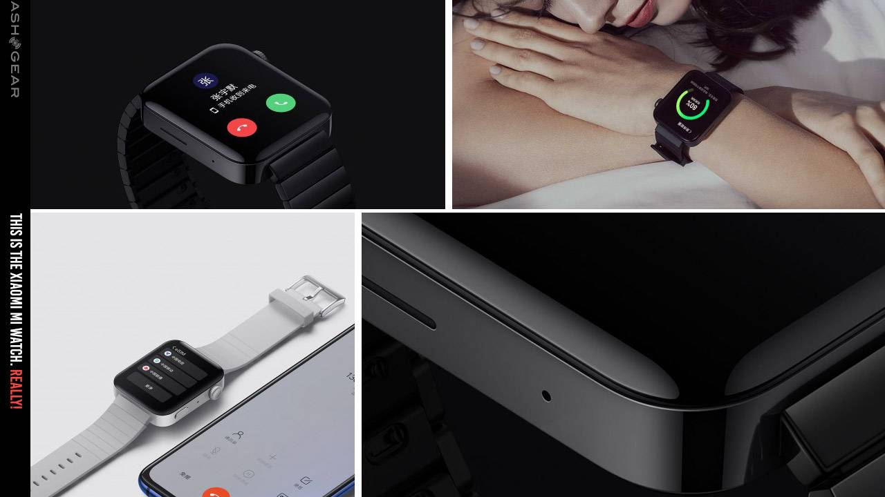 Xiaomi Mi Watch Apple Watch clone now works with Apple iPhone