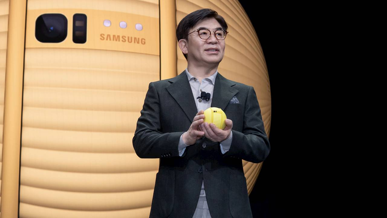 Samsung announces Ballie, a personal robot that helps you manage your smart home
