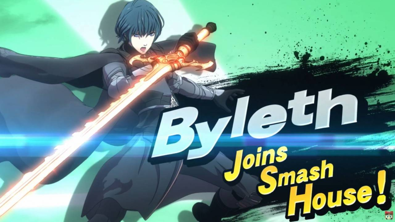 Byleth from Fire Emblem: Three Houses is Smash Ultimate's next DLC fighter