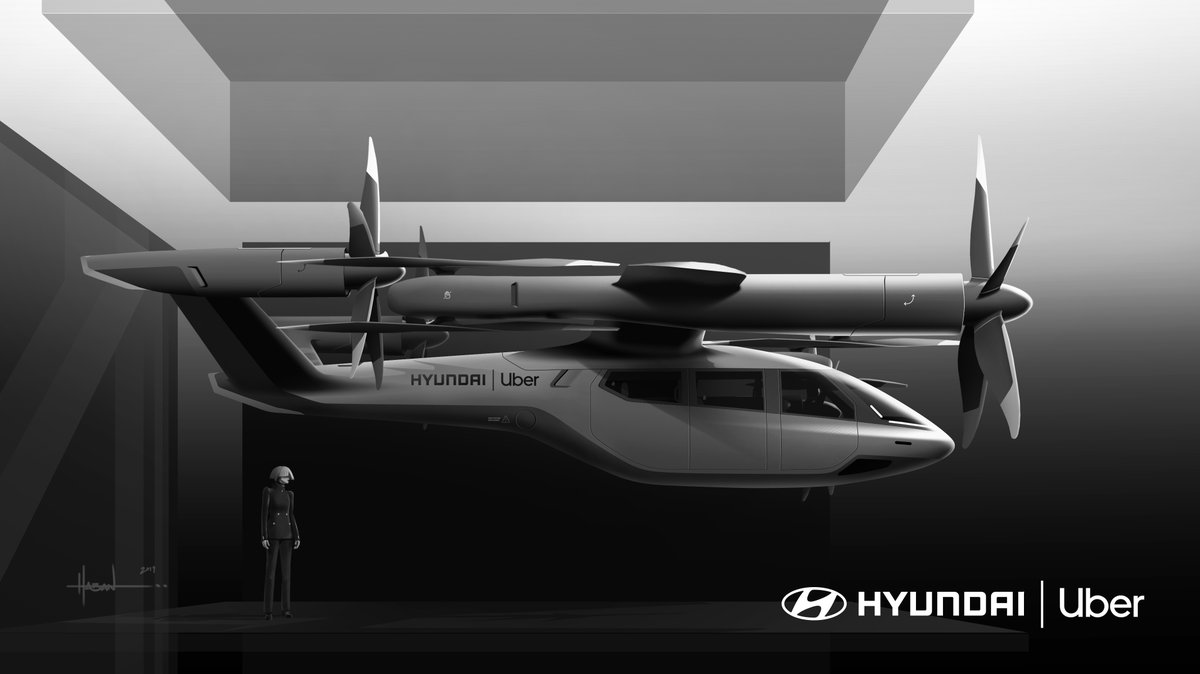 This is the flying taxi Hyundai is building for Uber