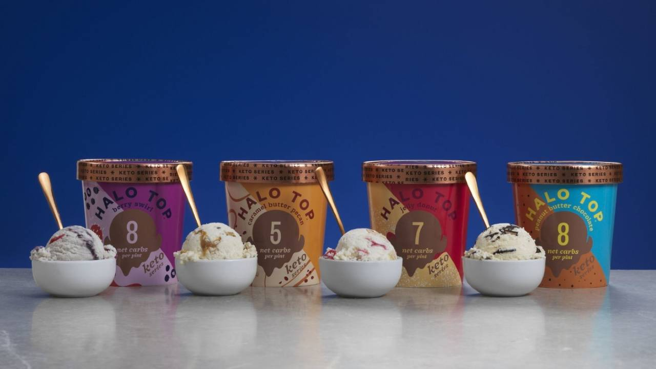 Halo Top Keto Series ice cream offers traditional flavors for dieters