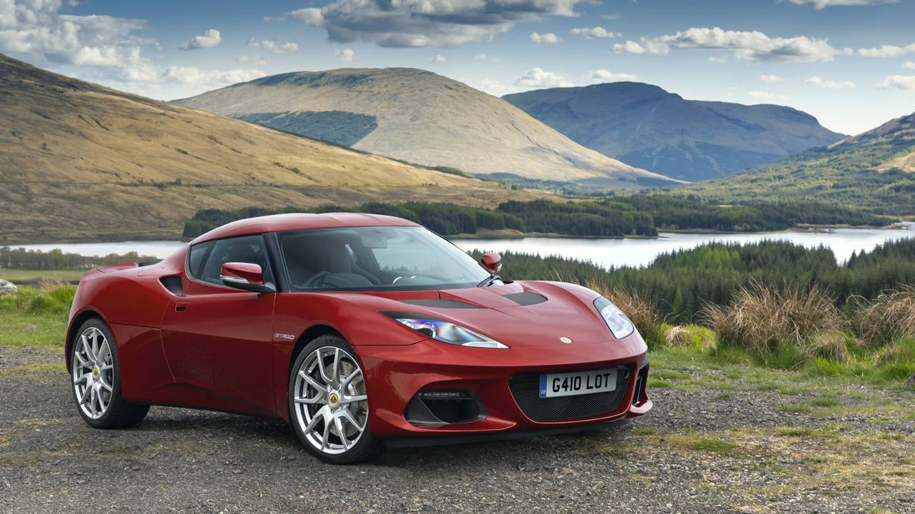 Lotus Evora GT410 slots into the line next to the GT410 Sport