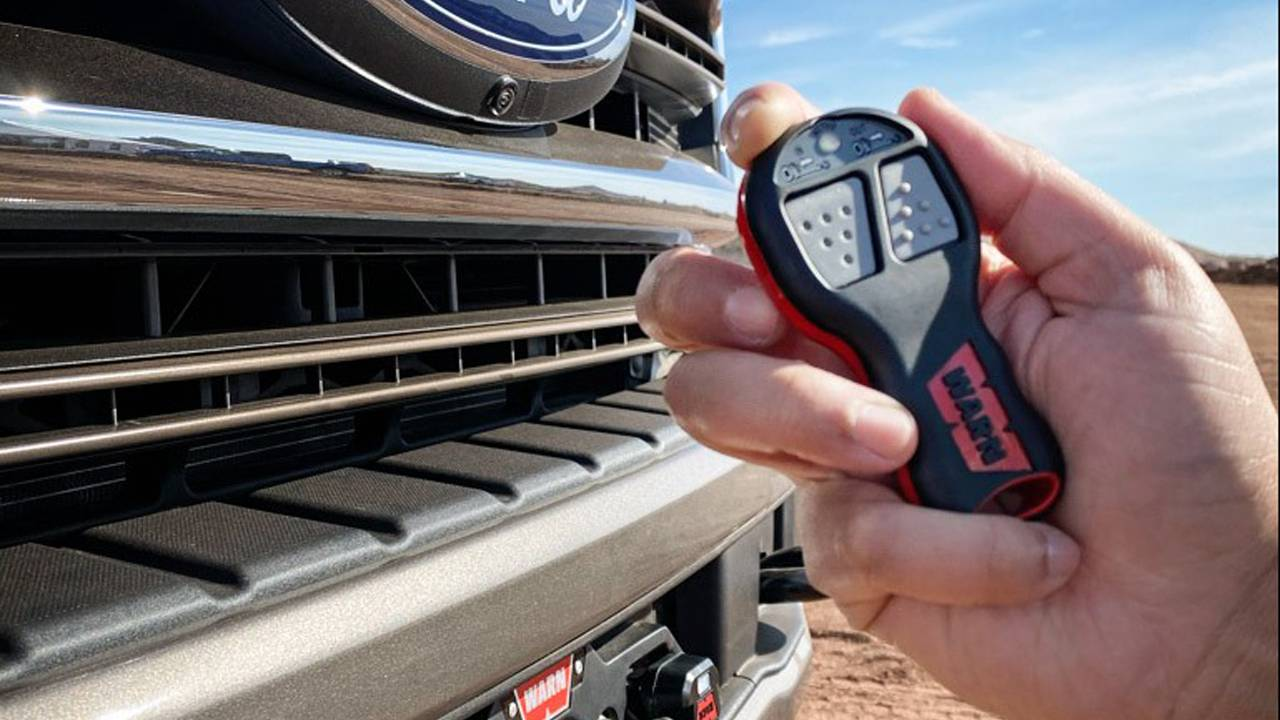 Ford offers Super Duty Tremor buyers a winch option
