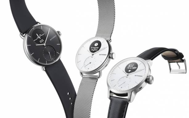 Withings ScanWatch detects irregular heart rate and sleep apnea