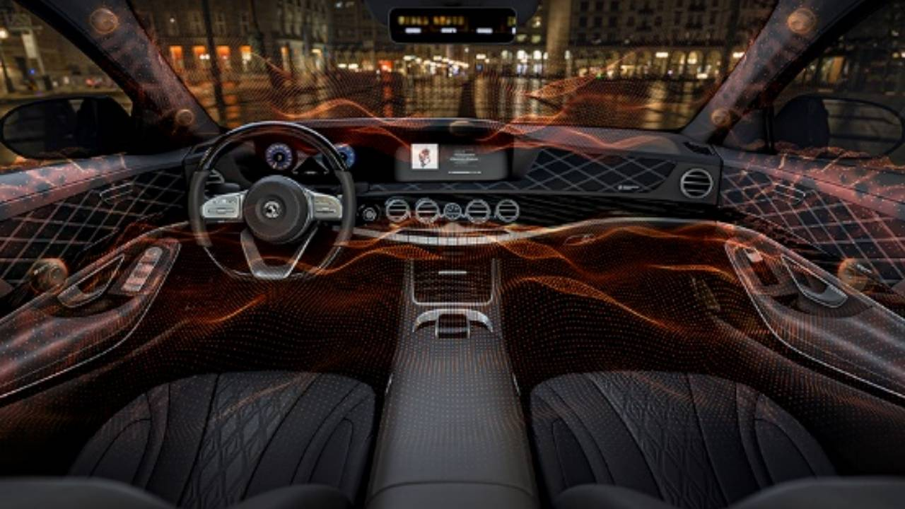 Sennheiser and Continental speakerless audio turns cars into instruments