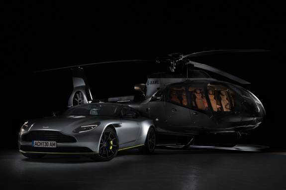 Airbus Creates ACH130 Aston Martin Edition helicopter