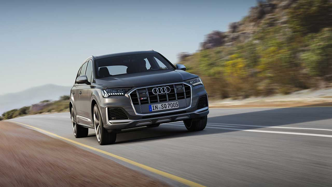 2020 Audi SQ7 and SQ8 SUVs pack 500hp V8s