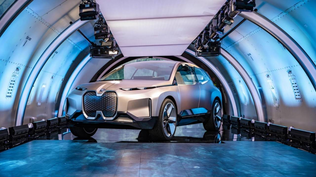 The BMW iNEXT electric SUV has two big plans for 5G