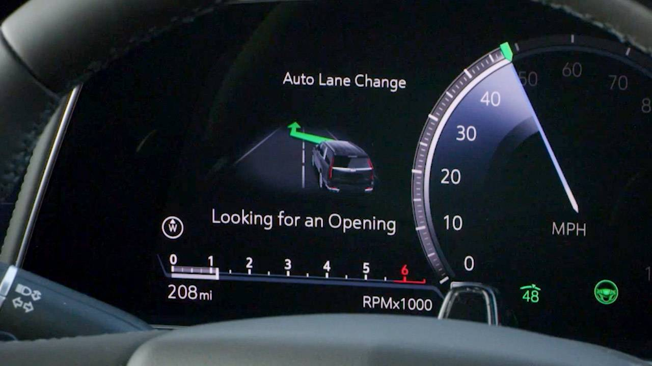 Cadillac Super Cruise auto lane-change added – but there's a catch