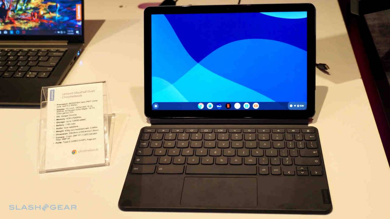 Lenovo launches FLEX 5 and IdeaPad Duet two-in-one Chromebooks