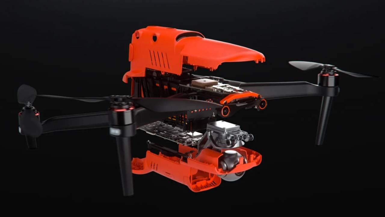EVO 2 folding 8K camera drone will take on DJI