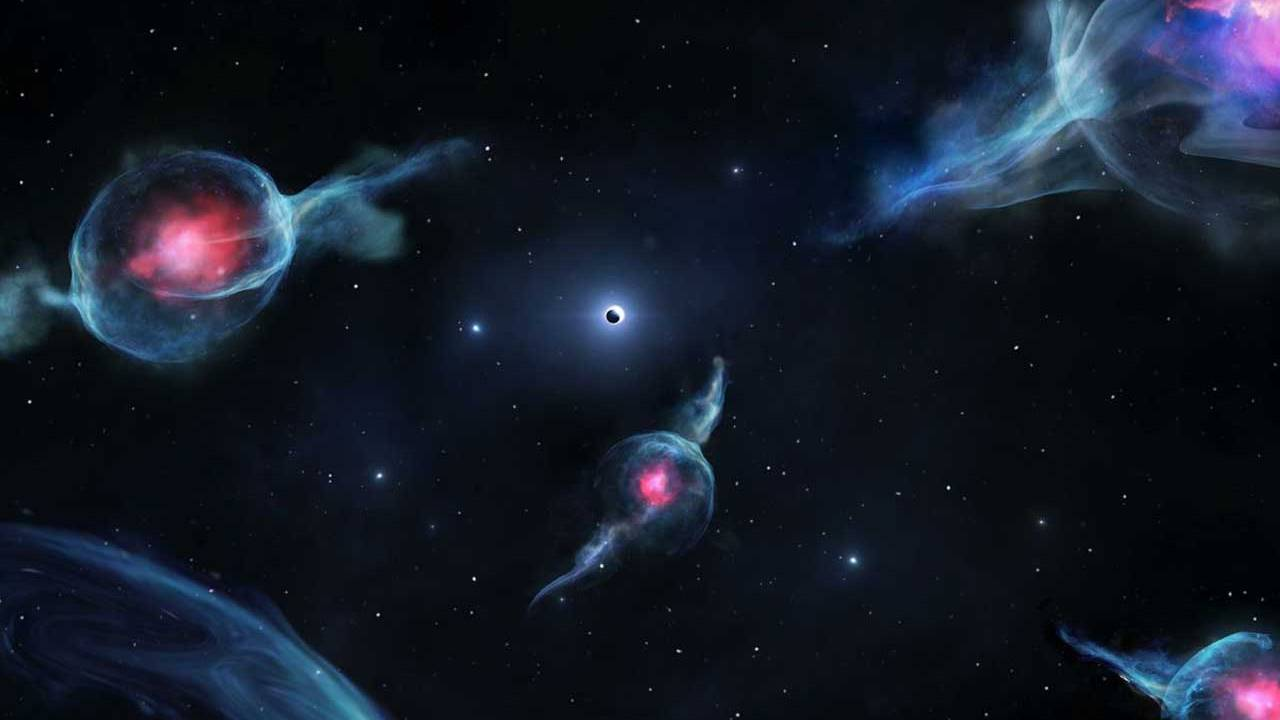 A new class of objects discovered orbiting Sagittarius A black hole