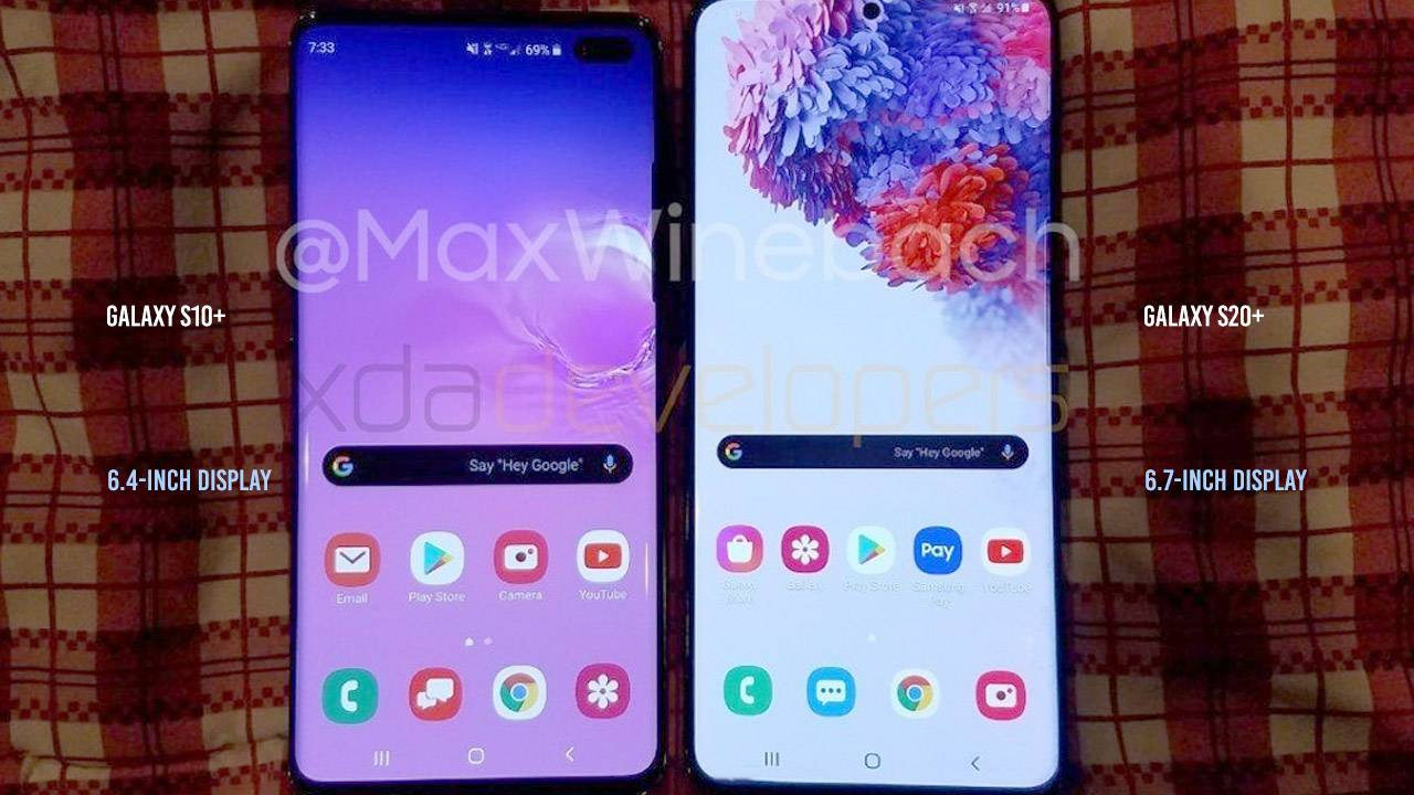 Samsung Galaxy S20+ specs and video spill the beans