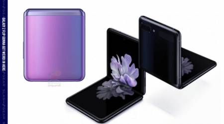 Samsung Galaxy Z Flip foldable just leaked with two displays