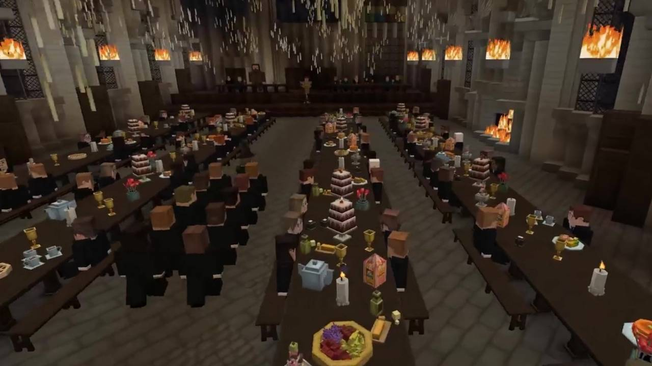 Harry Potter RPG built entirely in Minecraft is years in the making