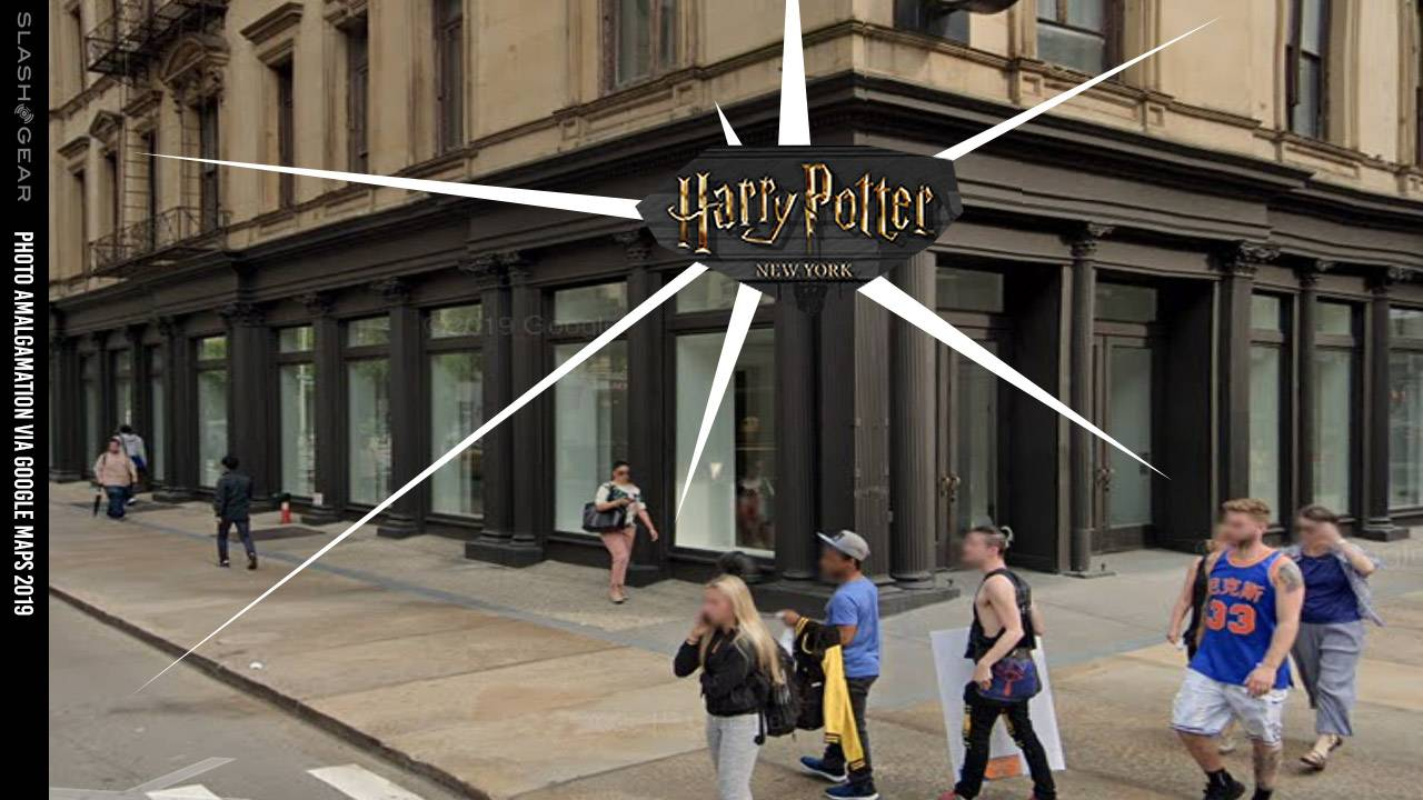 NYC history lives in new world's-largest Harry Potter store