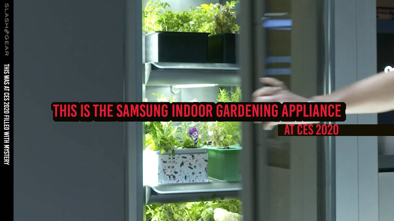 Samsung Indoor Gardening Appliance revealed at CES 2020
