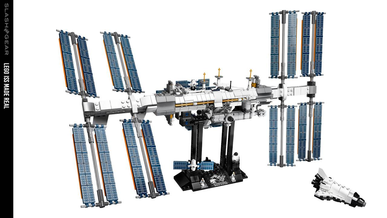 LEGO ISS International Space Station released for real