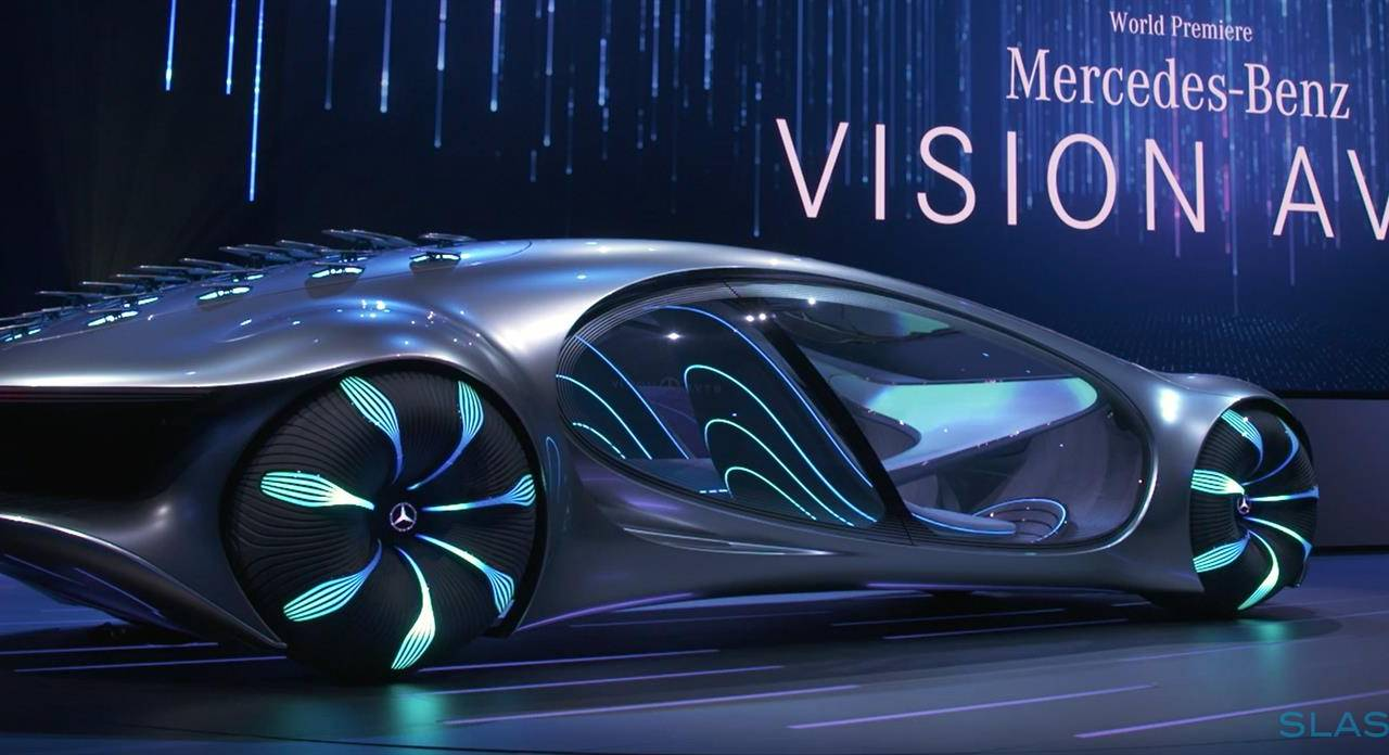 "Mercedes VISION AVTR is a wild concept car inspired by ""Avatar"""