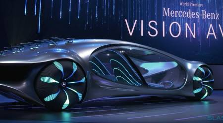 """Mercedes VISION AVTR is a wild concept car inspired by """"Avatar"""""""