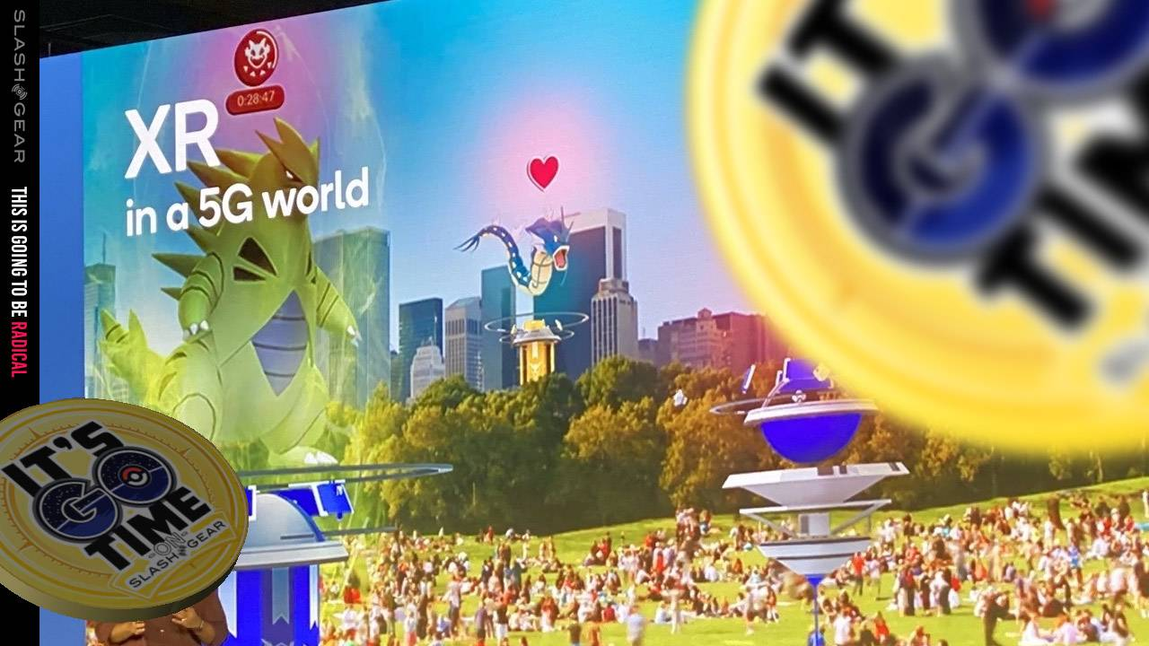 Pokemon GO with 5G clues points to enhanced legendary event