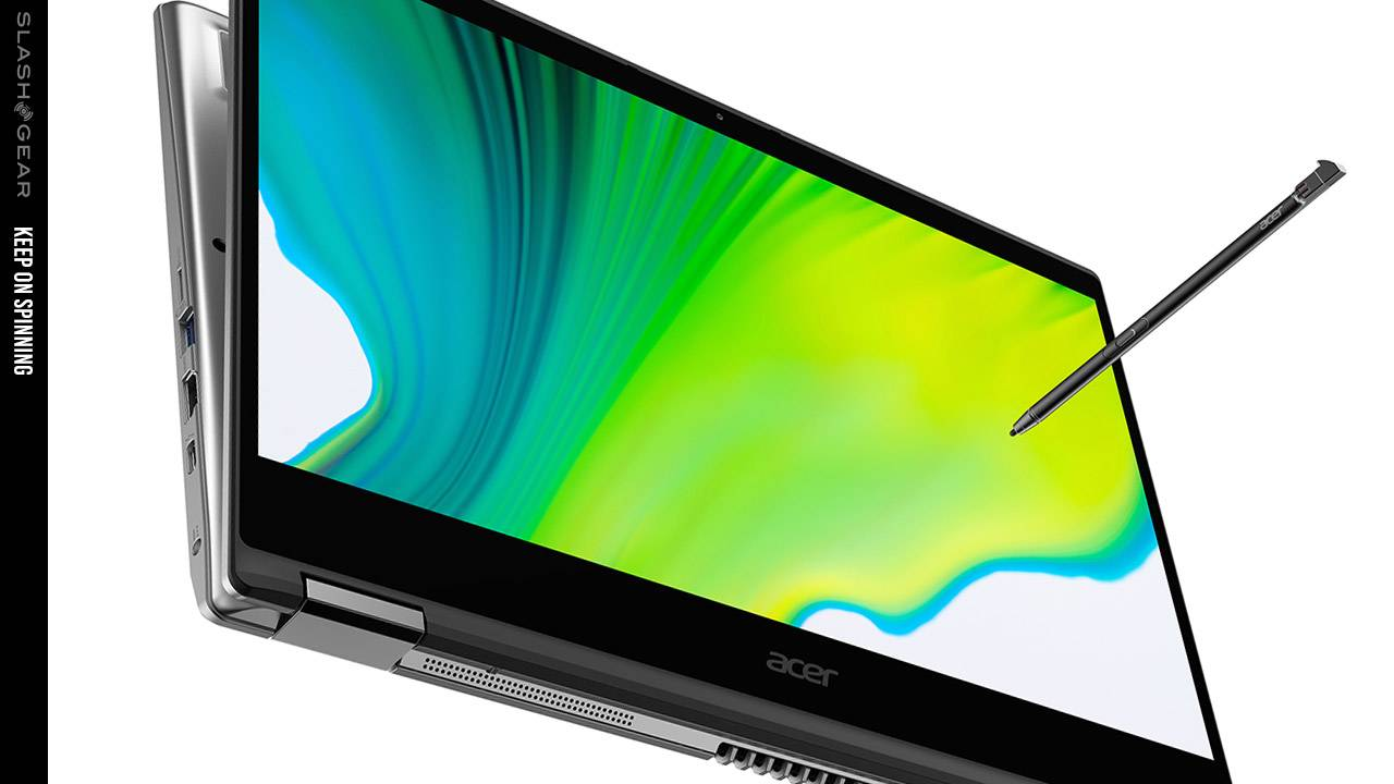 Acer Spin 5 and Spin 3 get thinner, lighter, TravelMate gets tough