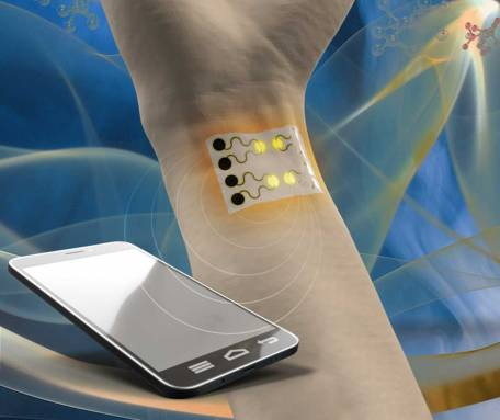 Researchers develop a wearable gas sensor for health monitoring