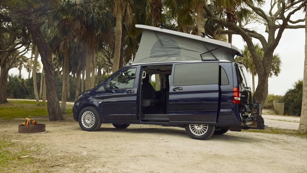 Mercedes-Benz Weekender pop-up camper confirmed for the US