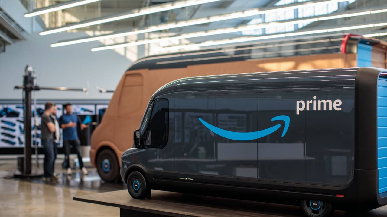 Amazon just spilled more details on its Rivian electric delivery vans